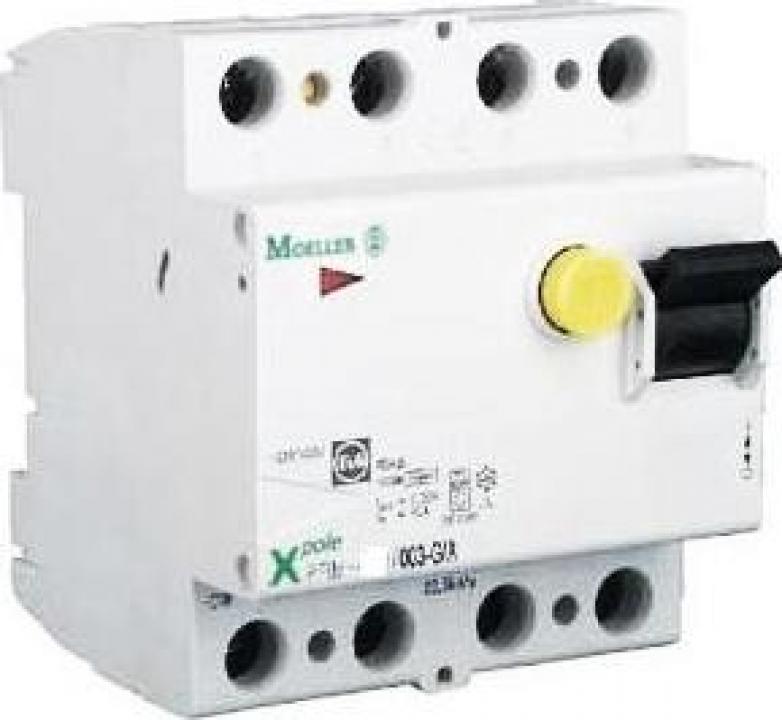 Intrerupator automat diferential 4P, 40A, Moeller