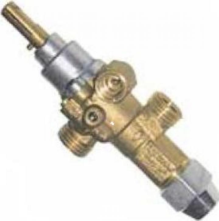 Robinet de gaz PEL 21S, intrare gaz M16x1.5 (conducta 10mm)
