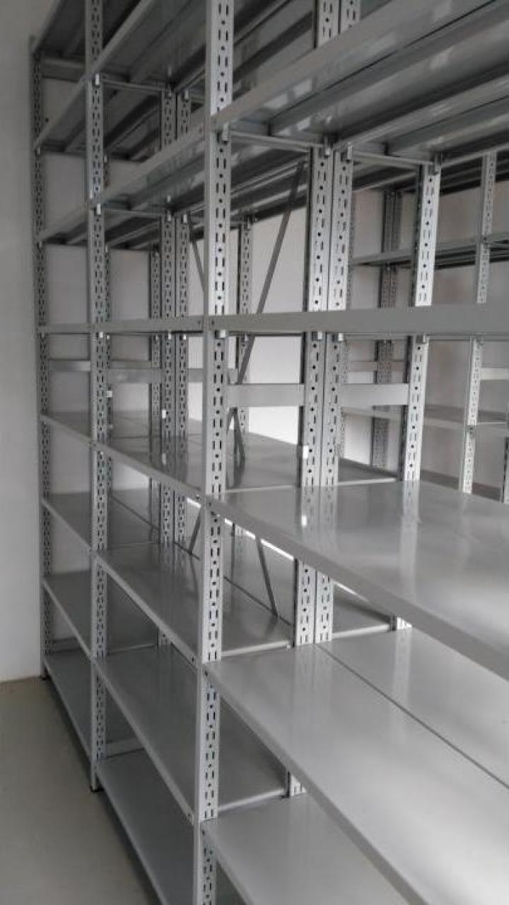 Rafturi metalice cu polite 500*1000*3000H-6NIV