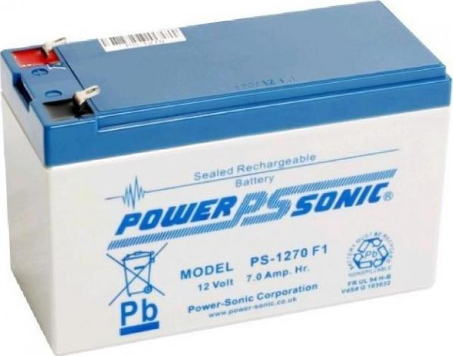 Acumulator auto 12V/7AH UPS Power Sonic SUA