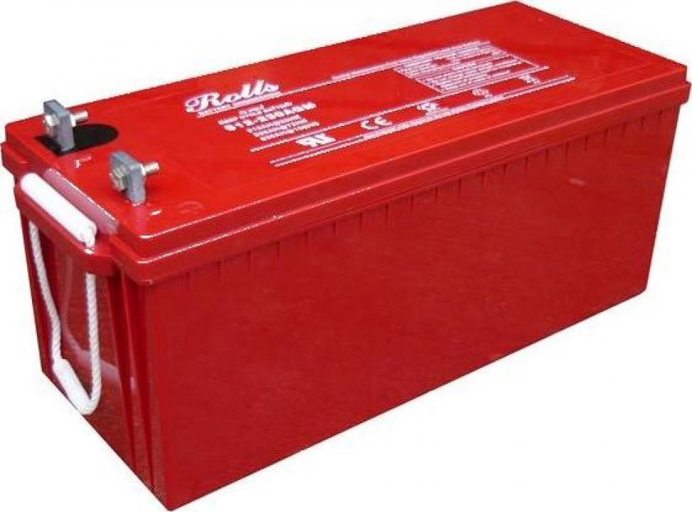 Baterie solara Rolls 12V 230Ah