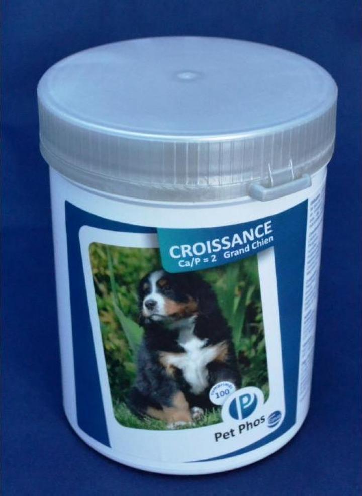 Supliment nutritiv catei Pet Phos Special Grand Chien Ca/P=2