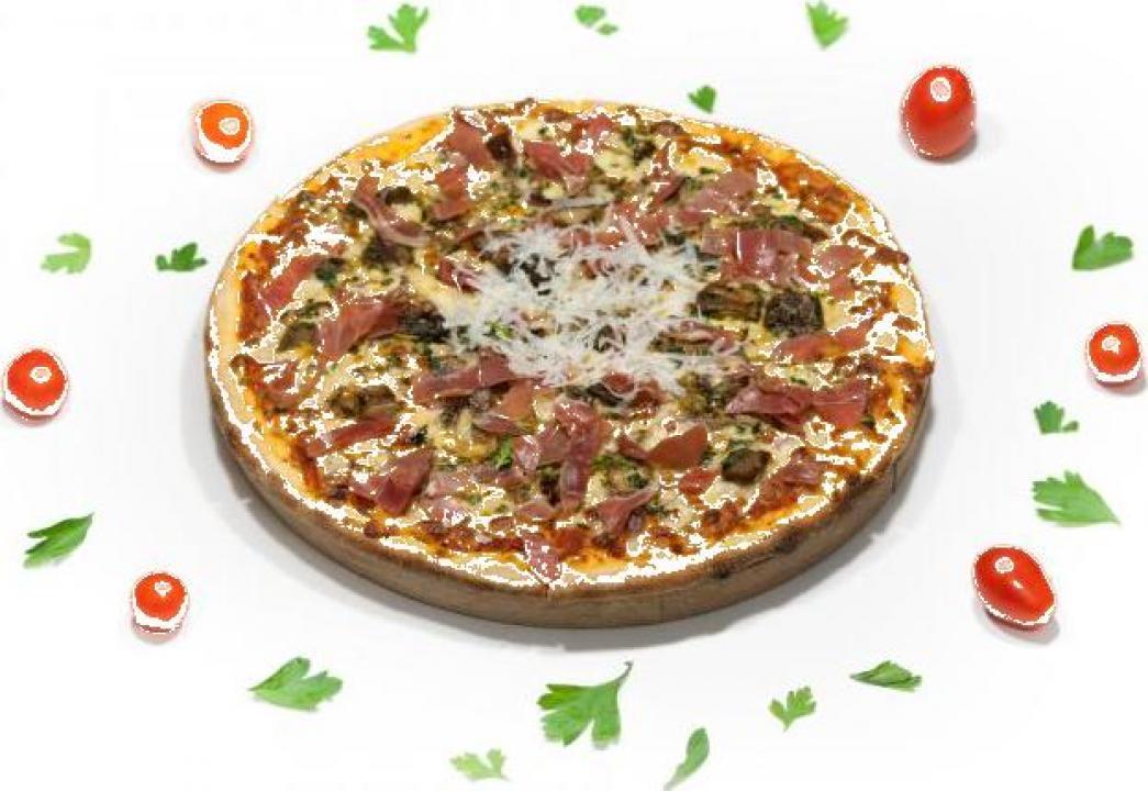 Pizza Prosciutto Porcini