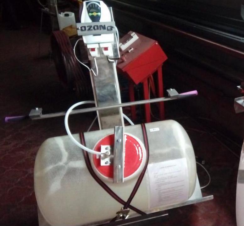 Instalatie dezinfectat sticle cu ozon