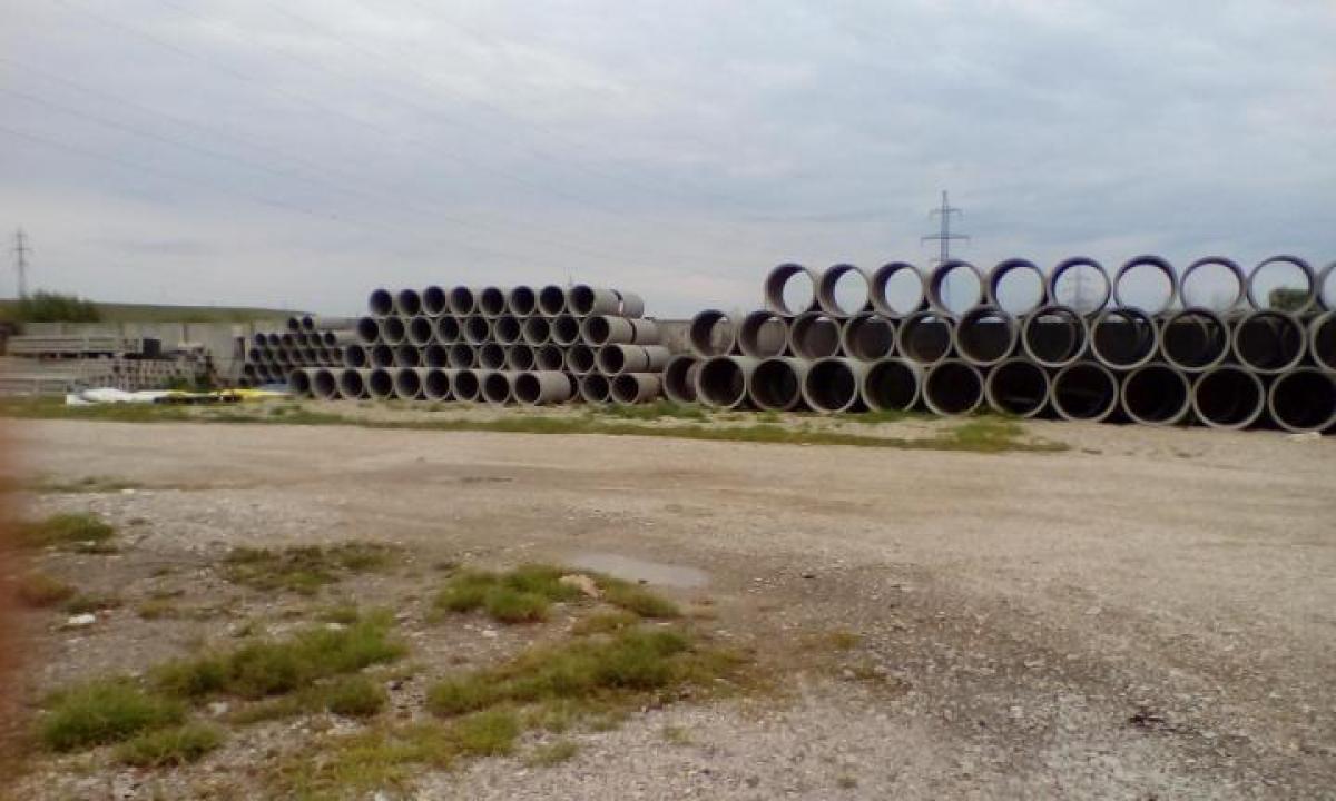 Tuburi din beton mufate pentru fantani si fose