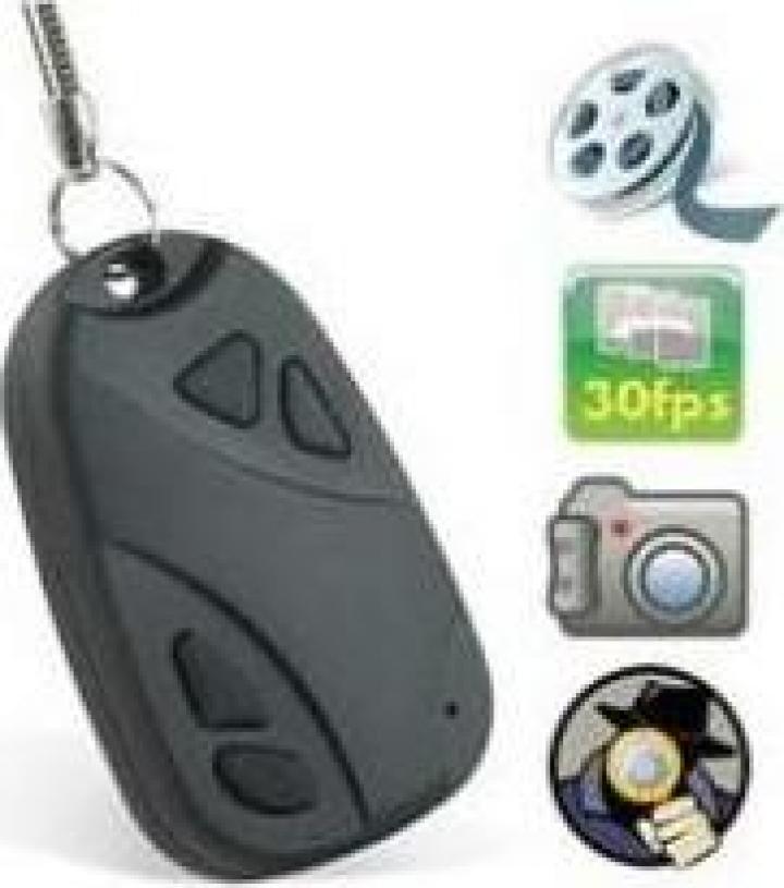 Breloc cu camera video incorporata 4Gb