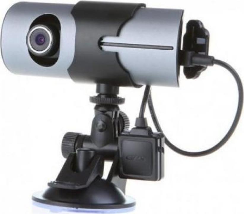 Camera Video DVR Auto R300 HD cu GPS