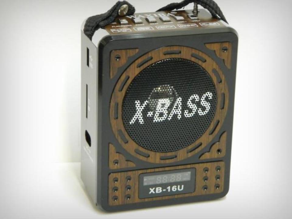 Radio Waxiba XB-16U cu MP3 si ceas LCD
