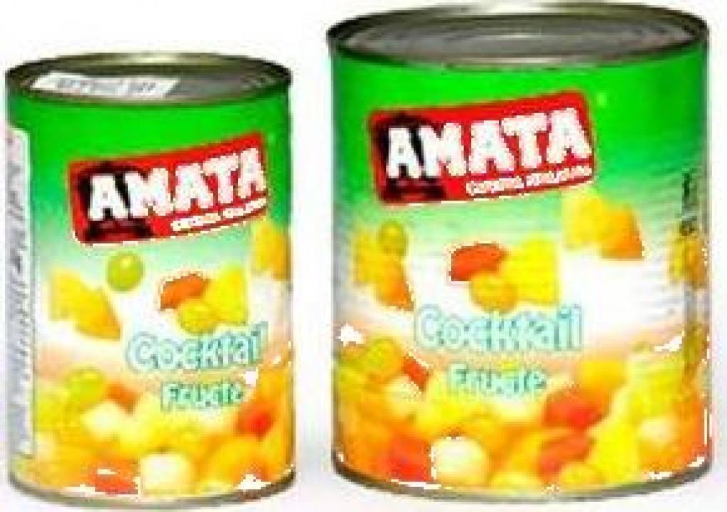 Conserva cocktail de fructe Amata