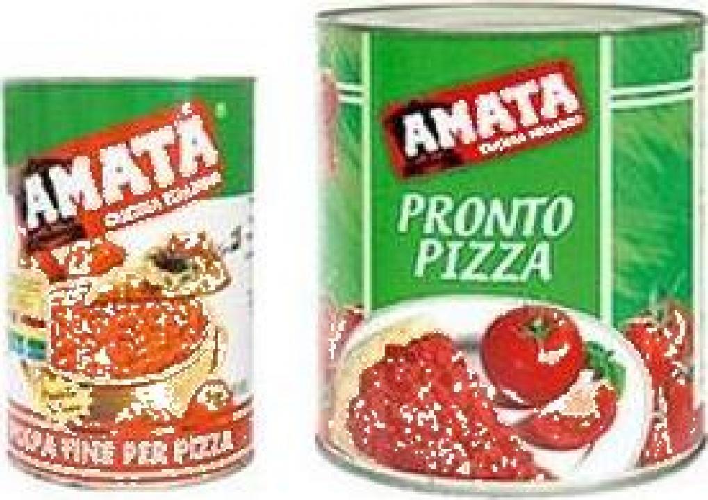 Conserva pulpa rosii pentru pizza Amata