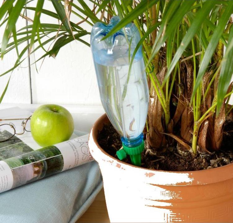 Adaptoare udare plante cu control debit, 6 buc