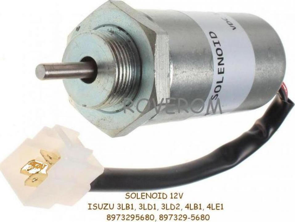 Solenoid 12V Isuzu 3LB1, 3LD1, 4LB1, 4LE1, Hitachi