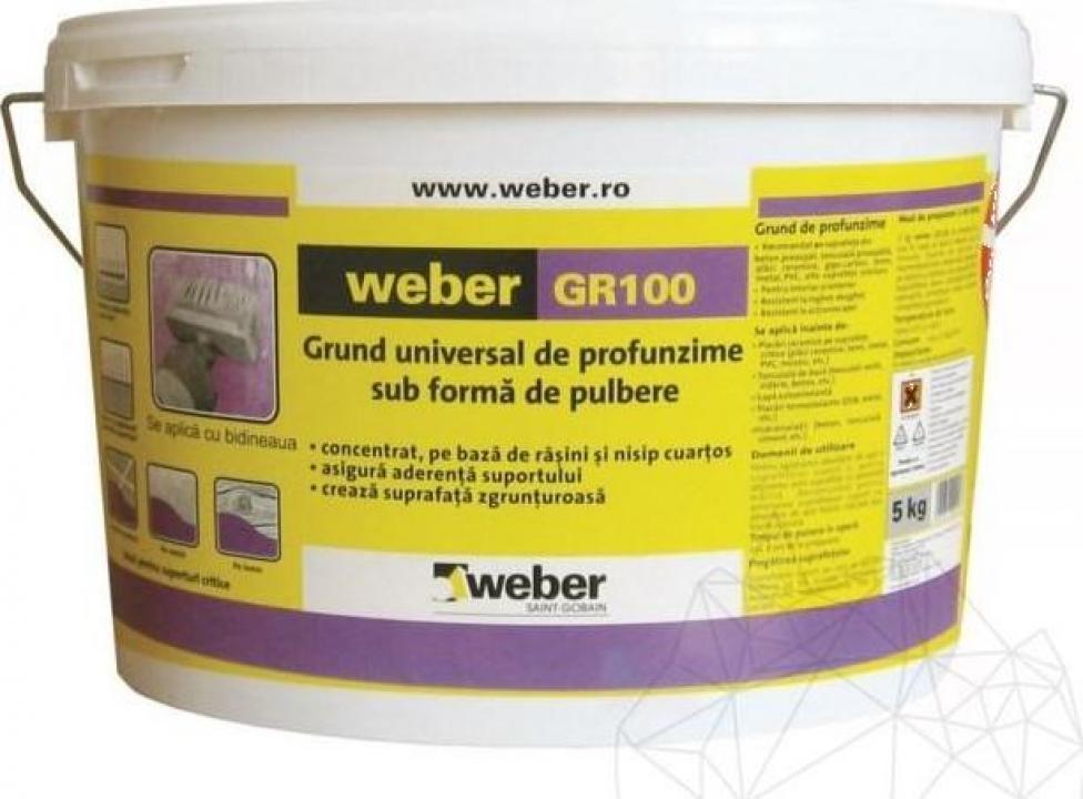 Grund universal de profunzime Weber GR100, 5Kg