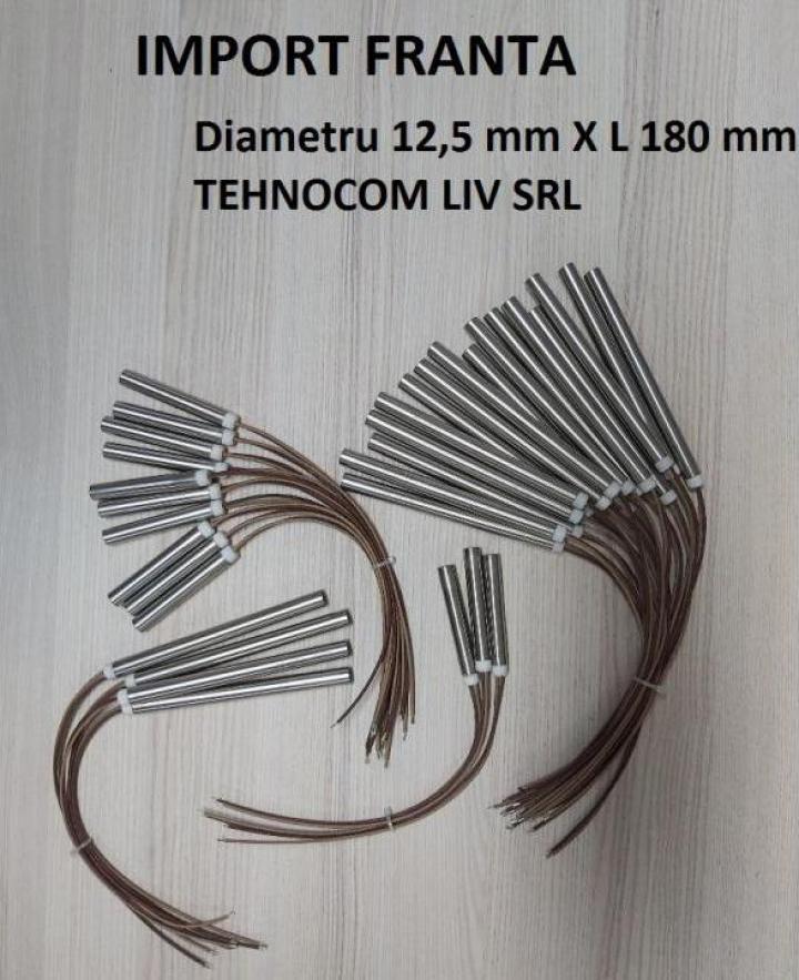 Cartus inoxidabil P 630, 1000, L=180mm, D=12,5 mm