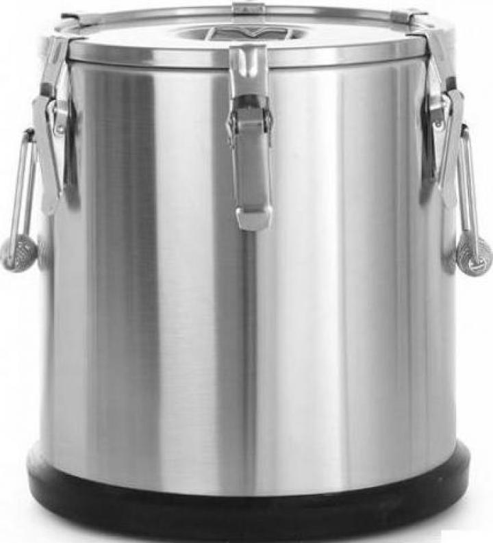 Marmita inox termica 15 litri