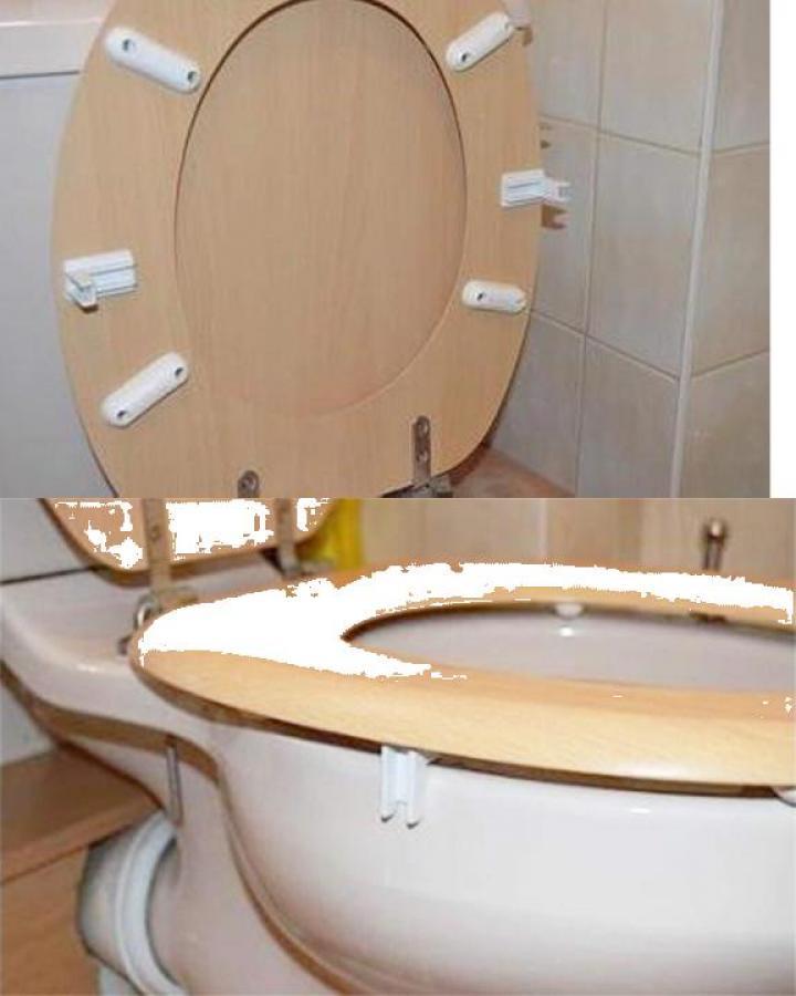 Kit pentru fixare si stabilizare capac wc