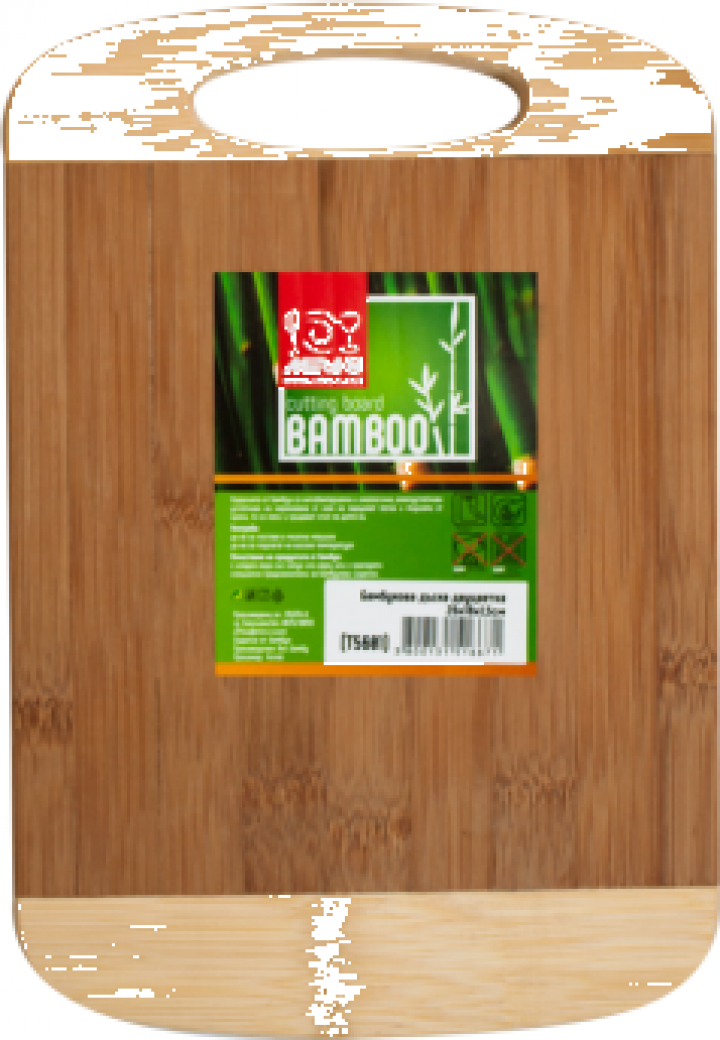 Tocator bucatarie bambus Raki 26x18x1,5cm