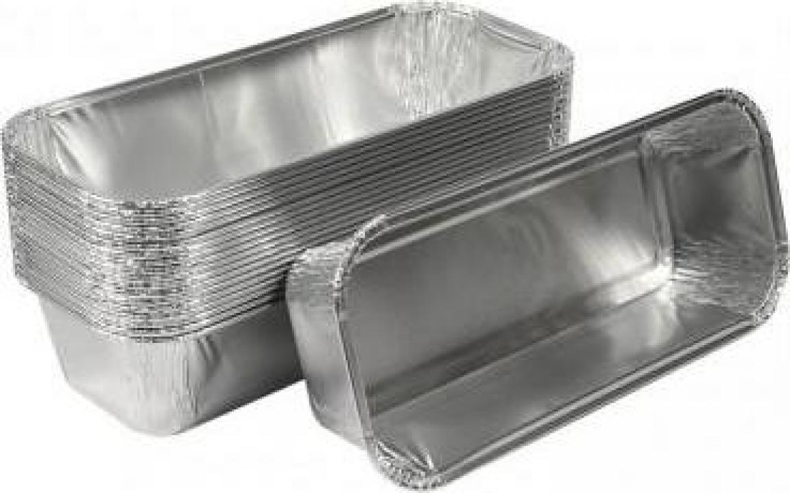 Caserola aluminiu chec R15G 1200 buc/bax
