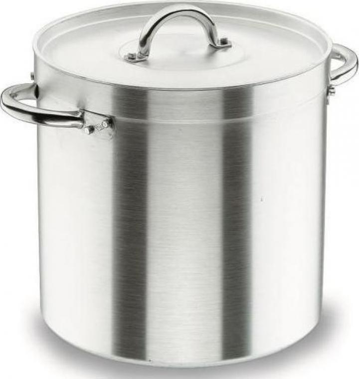 Oala aluminiu cu capac profesionala 25.75 litri