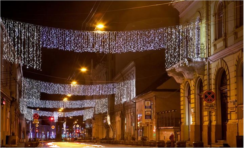 Perdele luminoase cu LED-uri 3 x 3 metri