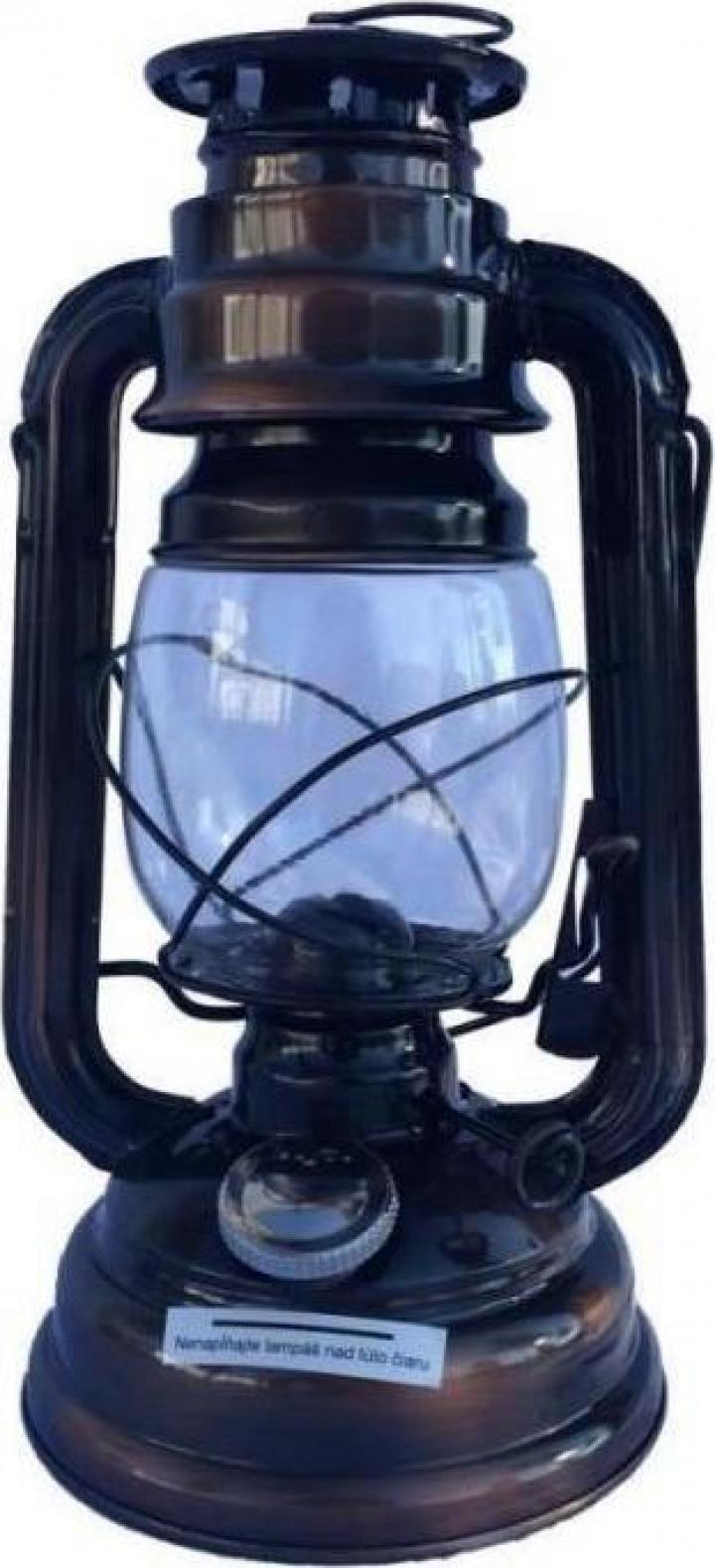 Lampa cu gaz Strend Pro Classic, aspect Cupru