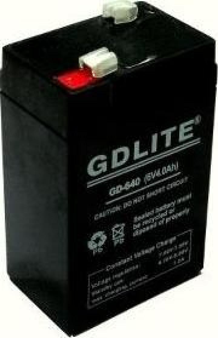 Acumulator 6V 4A cantar electronic GDLITE 640