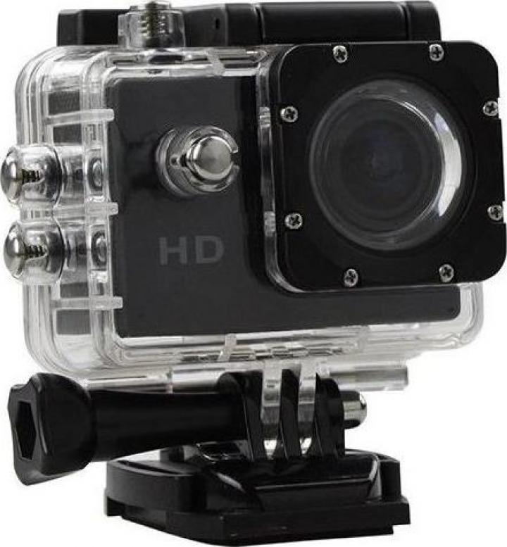 Camera subacvatica FullHD Sport S5000 1080P Black EXSports