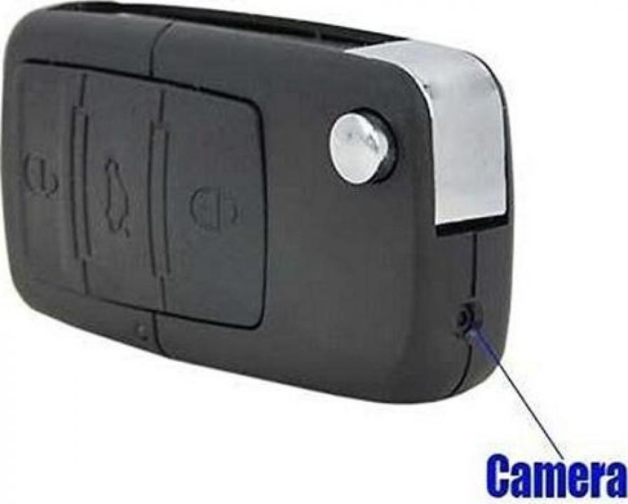 Camera video spion breloc cheie auto DVR S818