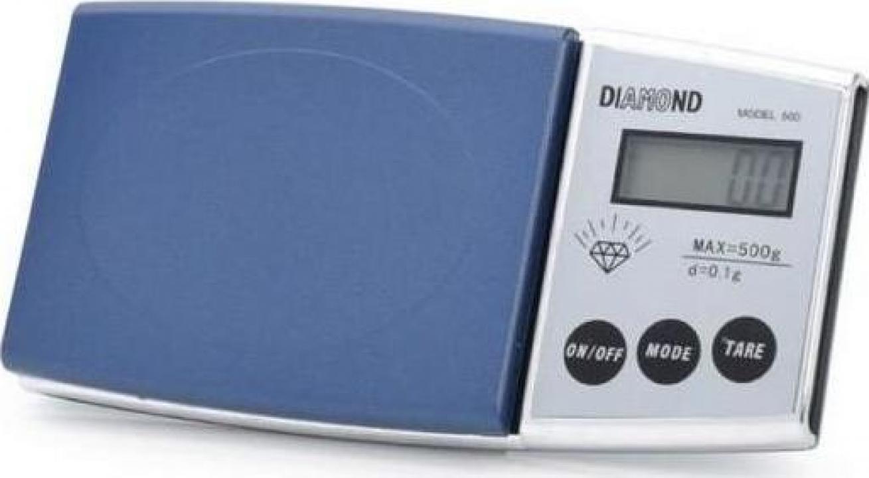 Cantar electronic de bijuterii Diamond 500 grame