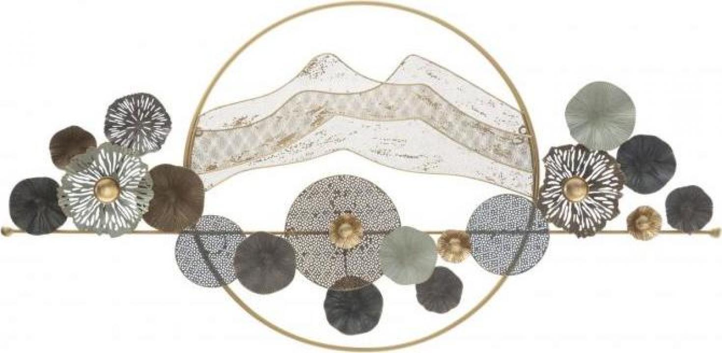 Decoratiune de perete Mountain Circle (cm) 139x7x69,5