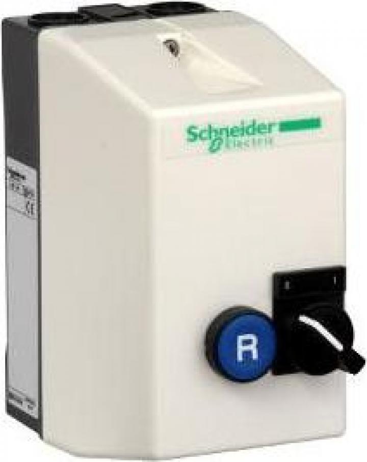 Demaror cu selector si buton de reset Schneider