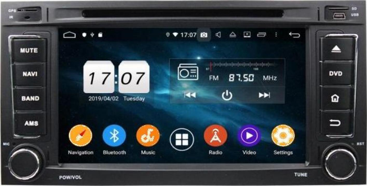 Sistem navigatie VW Transporter T5 Multivan Android 10 4GB