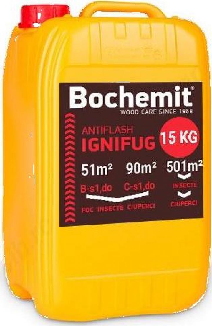 Solutie ignifugare Bochemit Antiflash 15 Kg transparent