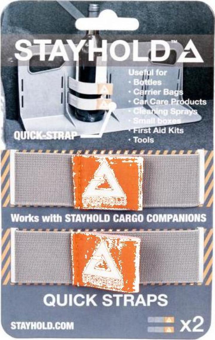 Curele elastice Stayhold Quick Straps, 2 buc.