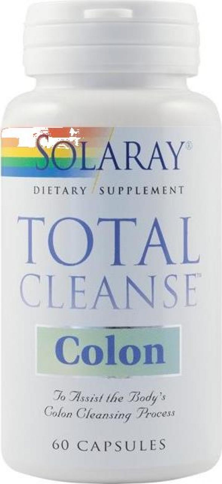 Supliment alimentar Total Cleanse Colon 60 cps