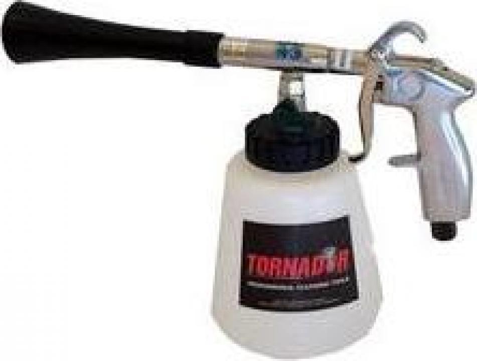 Aparat curatare interior auto Tornador Black