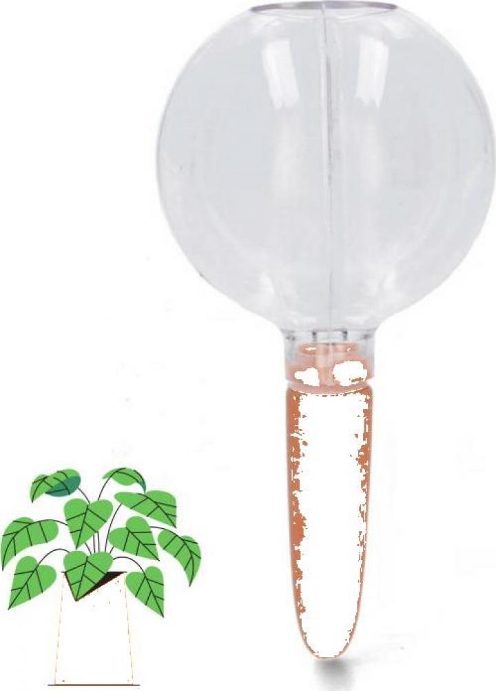 Glob apa, recipient auto irigare plante in ghiveci