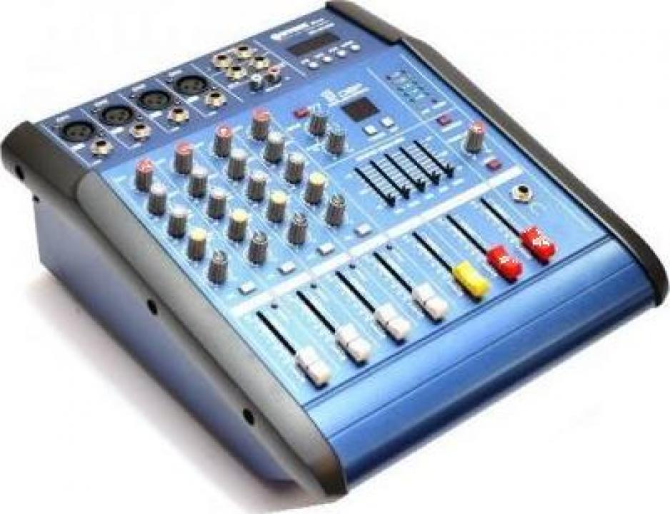 Mixer audio amplificat WVNGR WG-4D