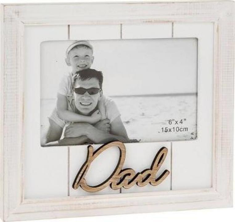 Rama foto din lemn cadou pentru tati
