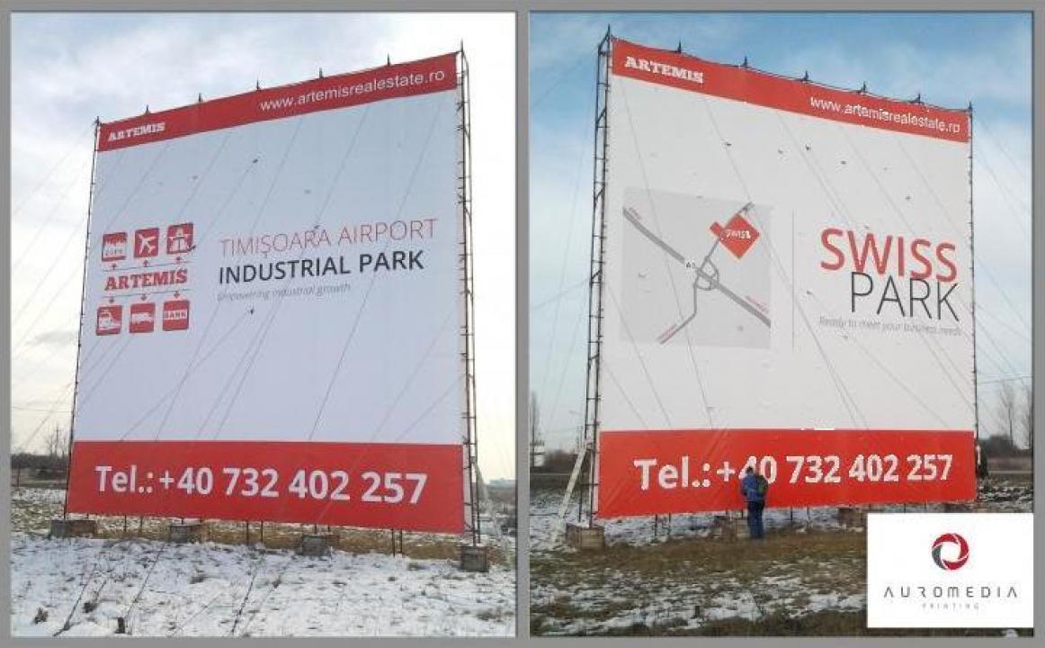 Print bannere publicitare / bannere personalizate