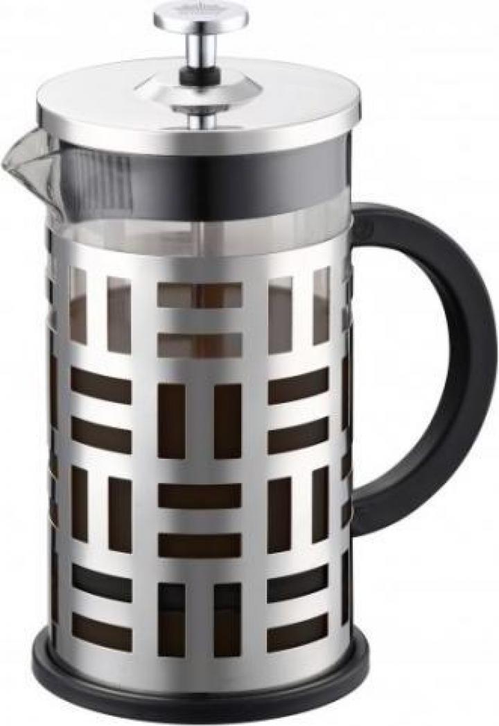 Filtru cafea si ceai, 600 ml, pahar sticla, Peterhof