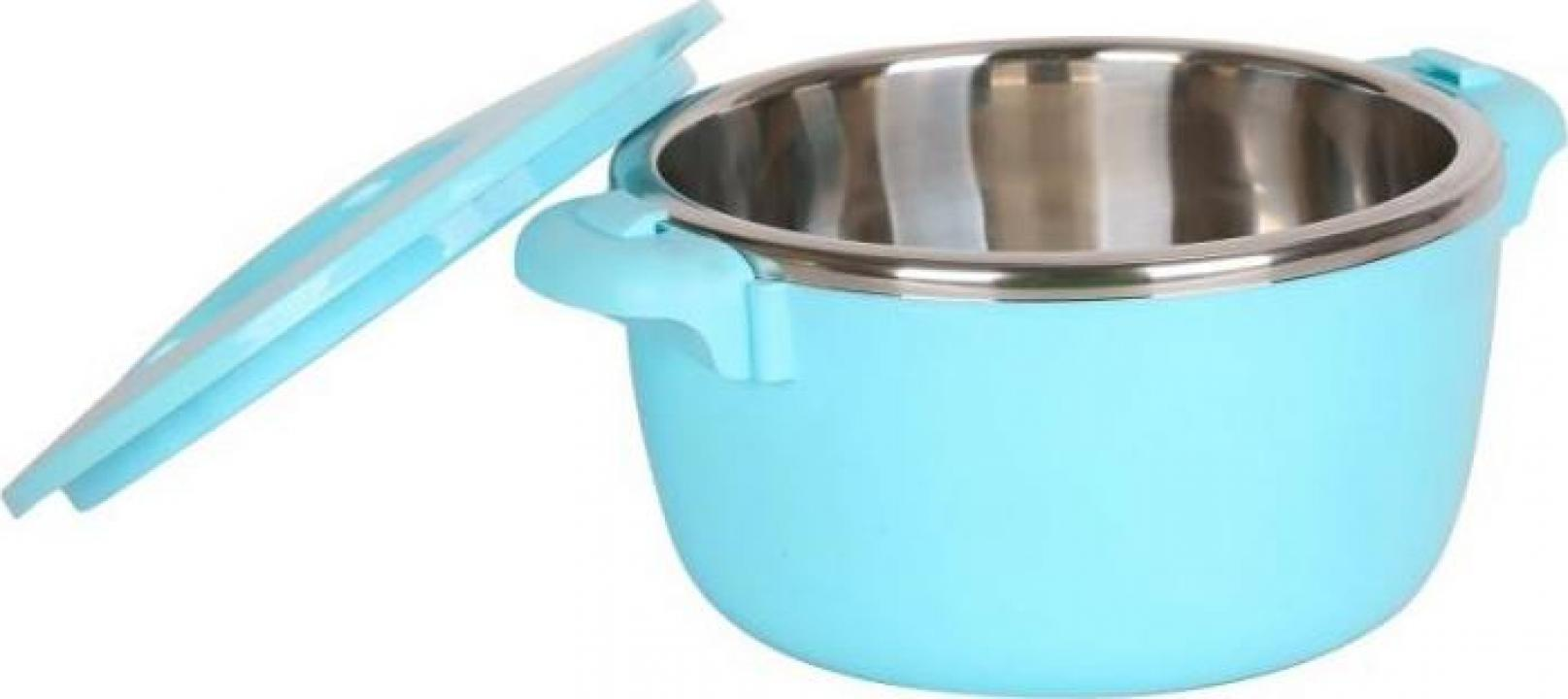 Caserola termica, 6 litri, albastra, Heinner