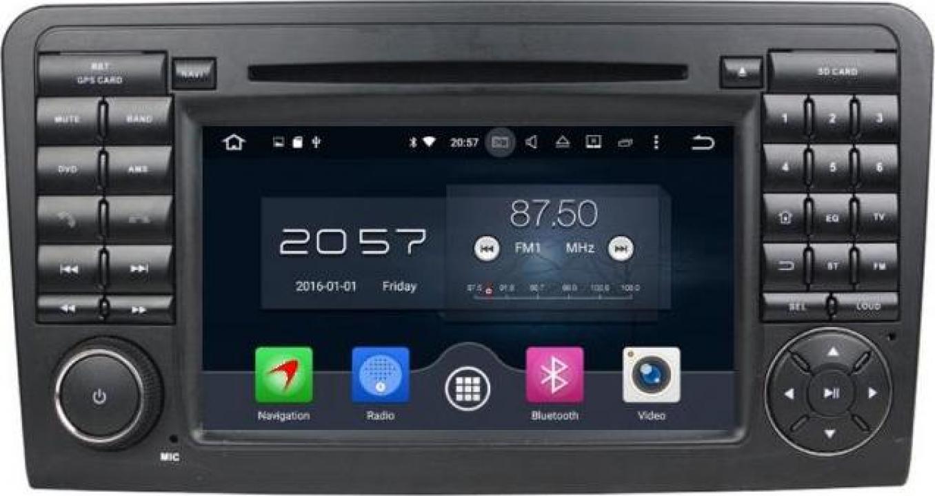 Sistem navigatie dedicata Mercedes-Benz ML-W164 2005-2012