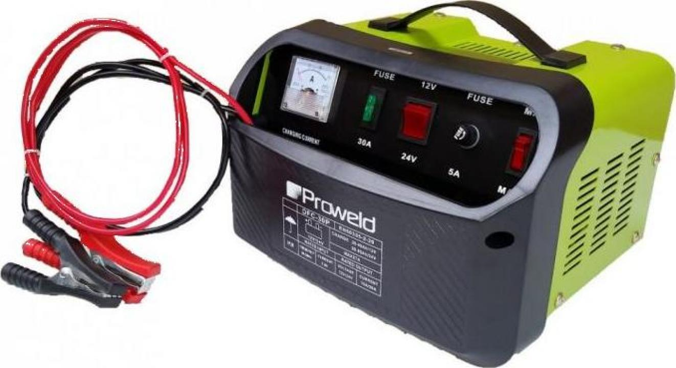 Redresor acumulatori ProWELD DFC-30P, 12V/24V