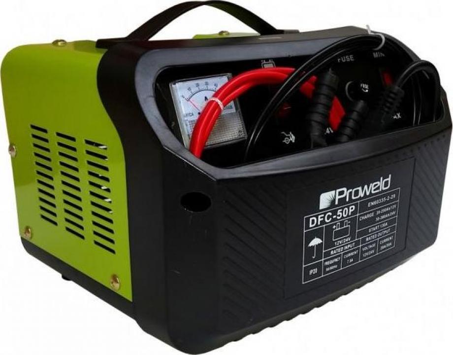 Redresor acumulatori ProWeld DFC-50P 12V/24V, functie Start