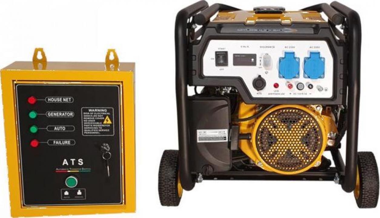 Generator open-frame Stager FD 3000E+ATS, 2.5kW, monofazat