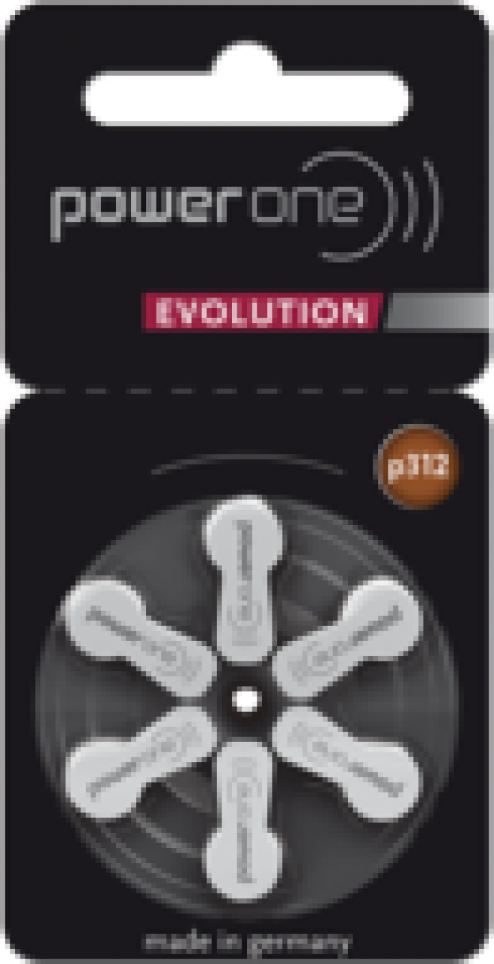 Baterii aparate auditive Power One P312 Evolution PR41