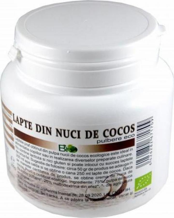 Lapte praf de cocos, Bio Eco 200g