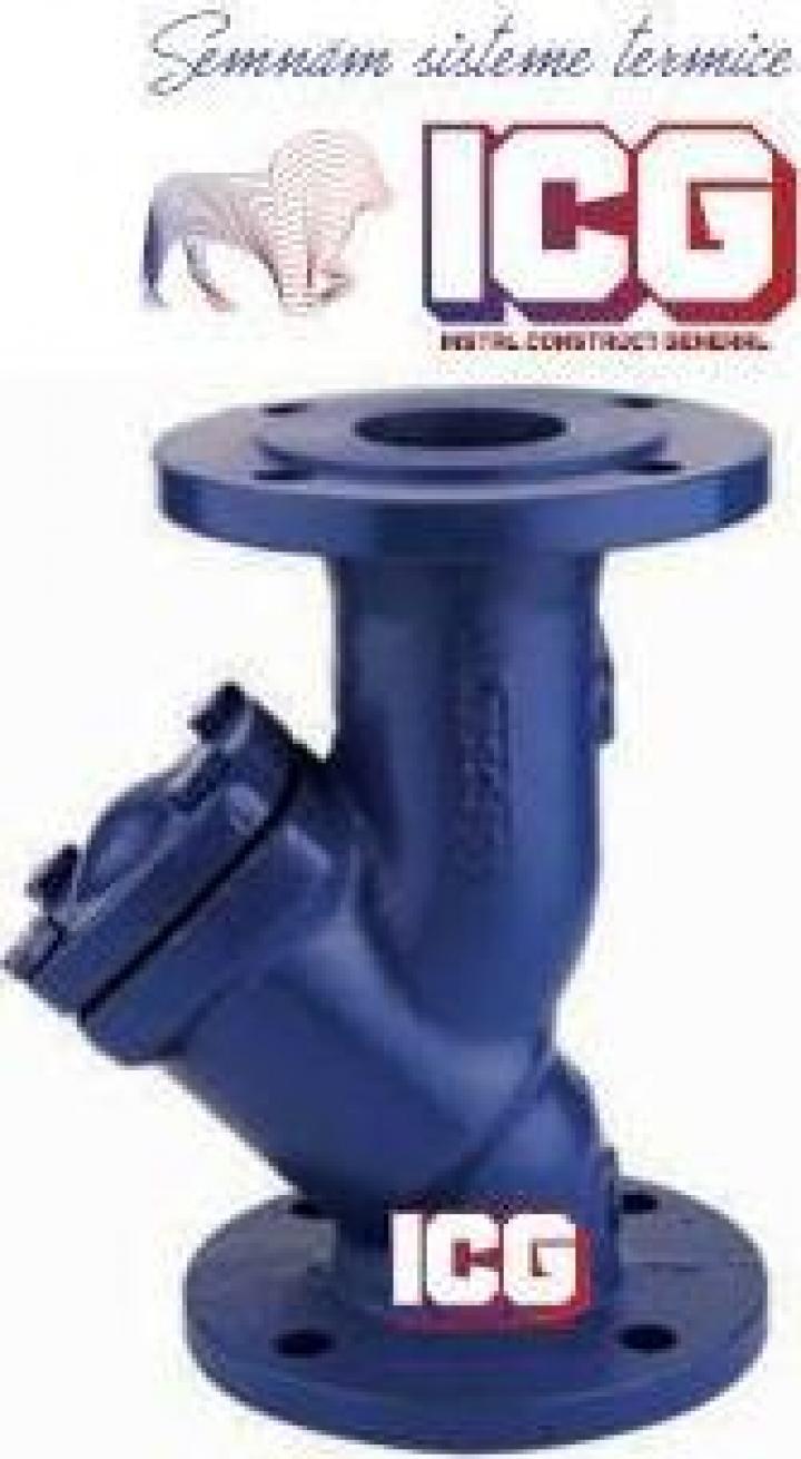 Filtru Y retinere impuritati PN16 DN40