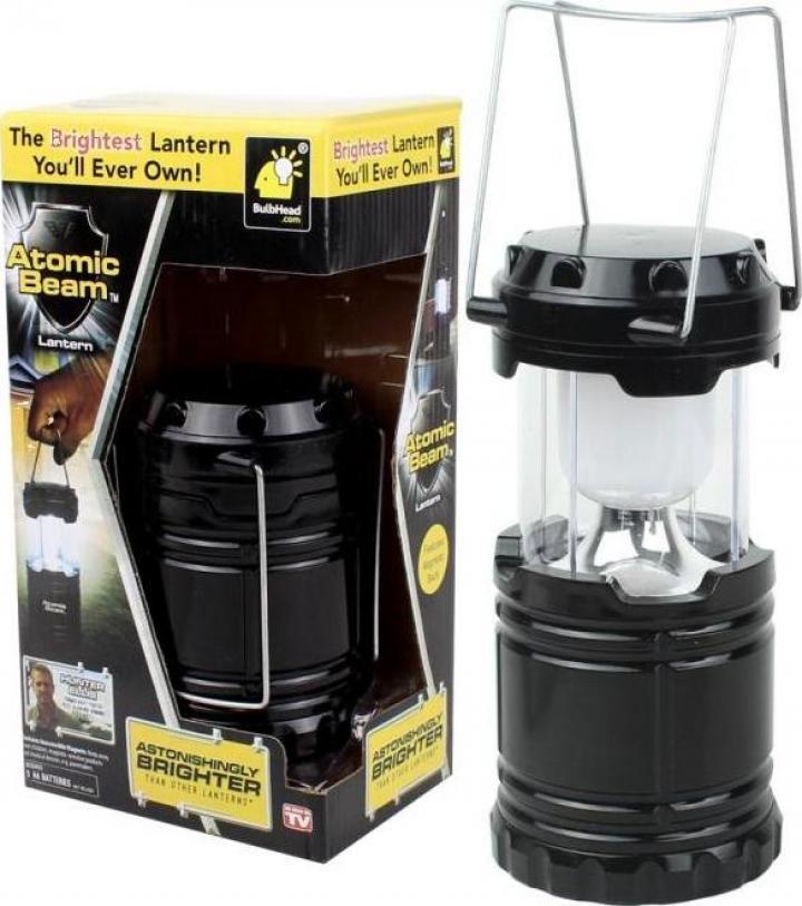 Lampa pliabila felinar pentru camping cu Led Atomic Beam
